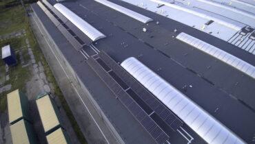 Instalacja dachowa dla firmy Ikano Industry w Krajence